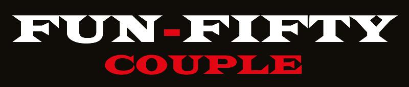 Image is of UK Escort Couple fun50couple logo
