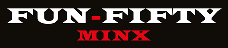 Image is of fun50minx GILF MILF escort logo