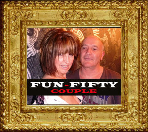 Image of the UK's most sought after mature escort duo, fun50couple