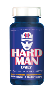 Image of HARD MAN DAILY erection pills