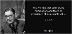 Image of humiliation quote