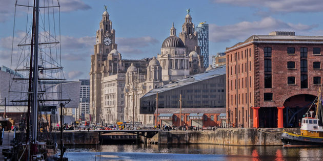 Our escorting trips reach out as far as Liverpool, as seen in this image