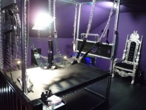 Image of Fifty Shades style BDSM dungeon to hire in the northeast