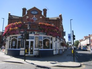 Image of famous Acton pub The Lion & Pineapple