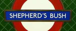 Image of Shepherds Bush London Underground, escort lifestyle destination