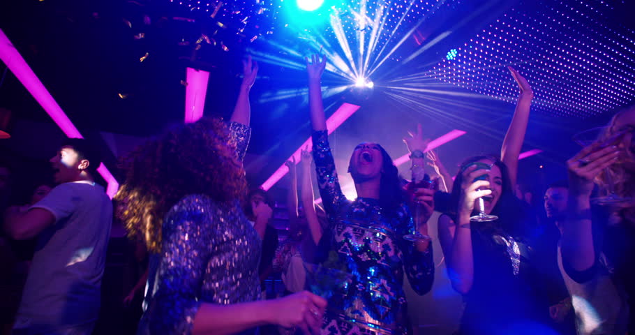 Image of Disco Dancing women, all part and parcel of an Escort Lifestyle