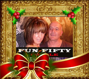 Image of fun50couple Mature UK Escort Couple at Christmas