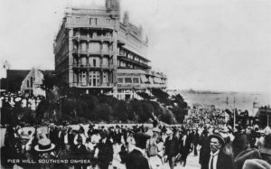 Escort Tour to Southend, Image shows Southend On Sea in the 20's