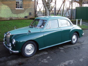 Image of two-tone MG Magnette from around 1958 new